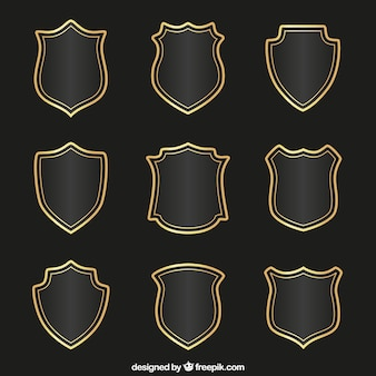 Shield vectors photos and psd files free download medieval shields collection maxwellsz