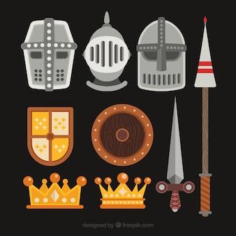 Средневековый сорт с плоским дизайном