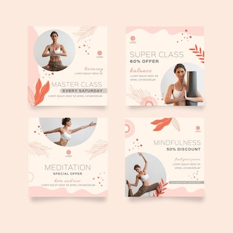 瞑想とマインドフルネスのinstagramの投稿コレクション