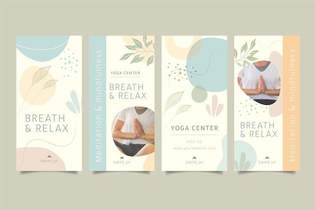 Истории инстаграмм о медитации и осознанности