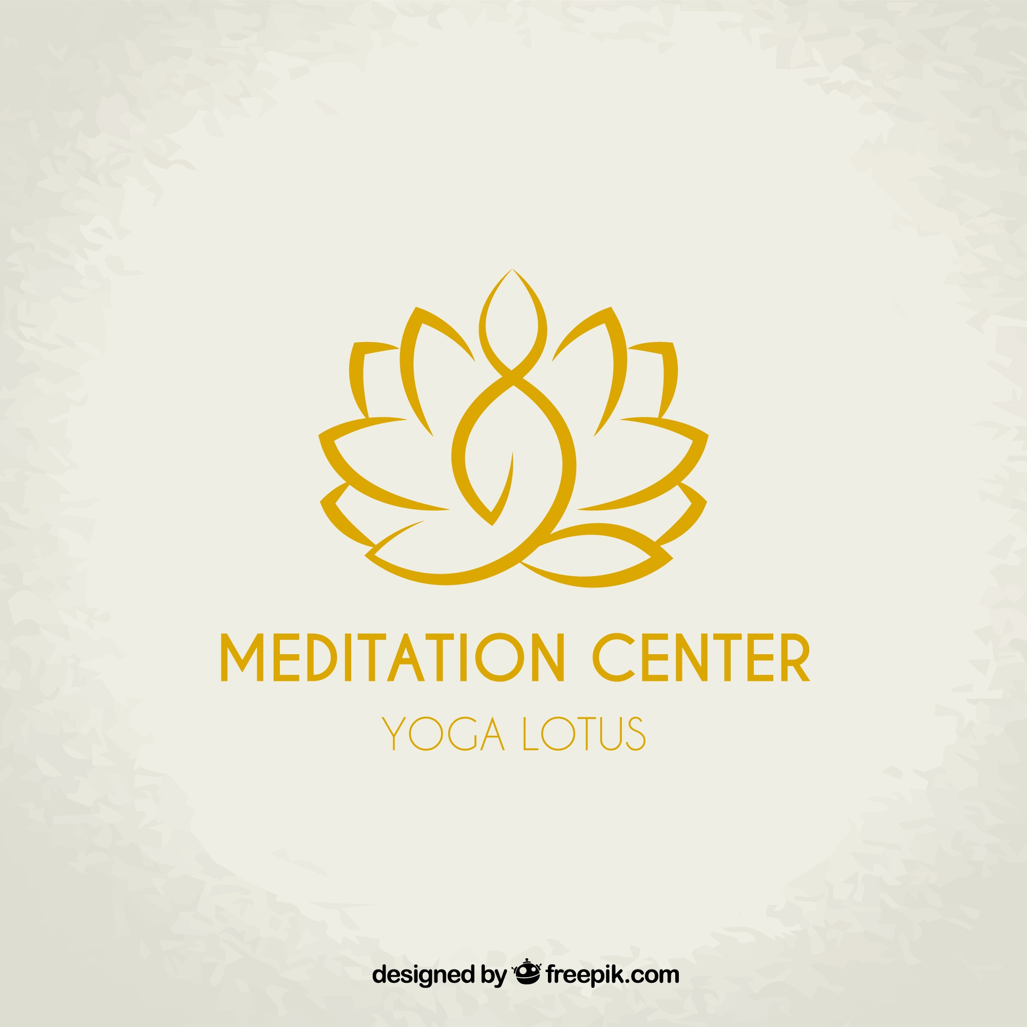 Meditation center logo