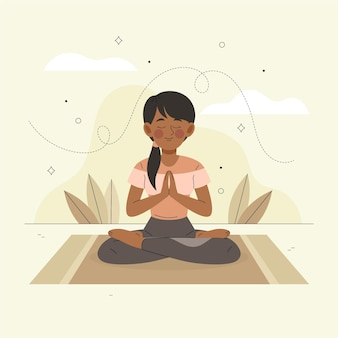 Meditation illustrated