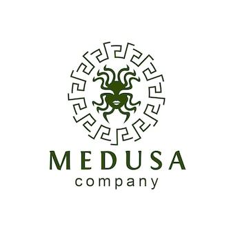 Логотип медузы богини