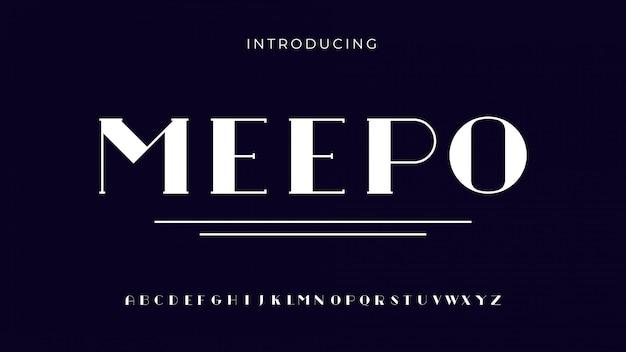 Meepo serifフォント