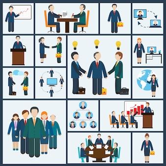 Meeting characters set