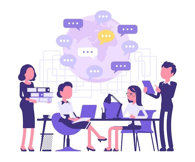 비즈니스 사람들을 위한 모임