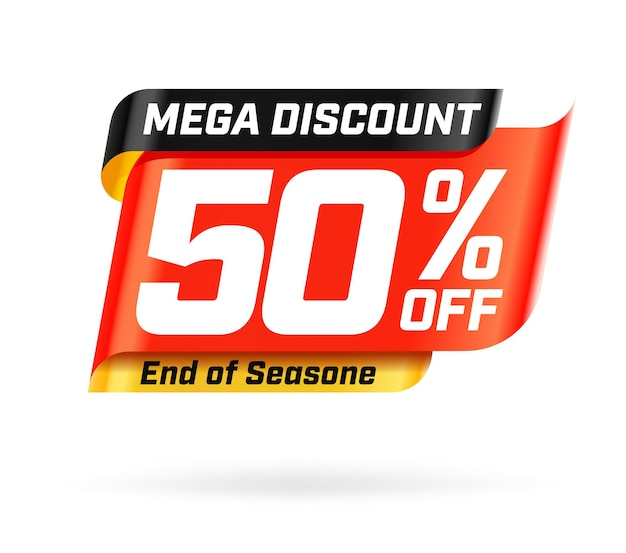 Мега скидка 50% до конца сезона распродажи
