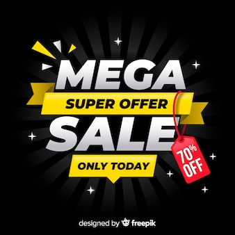 Mega offer background