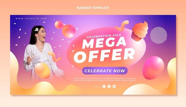 Mega offer banner template