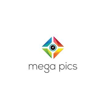 Mega pics photography logo