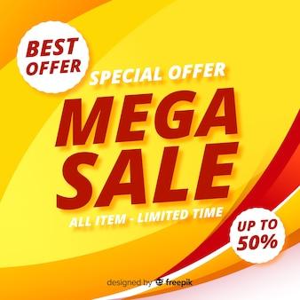Mega Sale Background