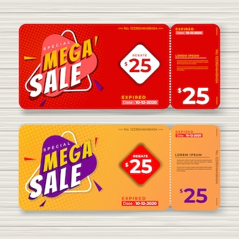 Mega sale voucher