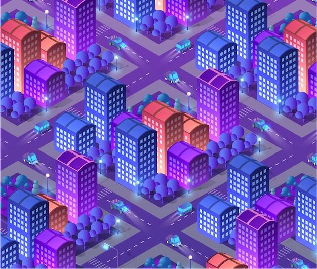 Megapolis city quarter