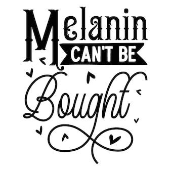 멜라닌 따옴표 그림을 구입할 수 없습니다 프리미엄 벡터 디자인