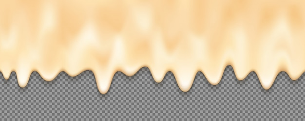 Melted cream background with an editable background.