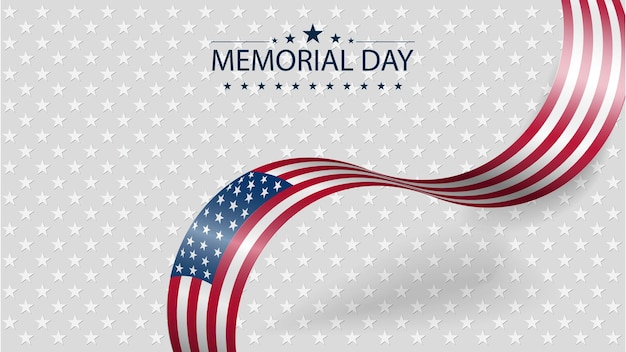 Memorial day or independence day concept