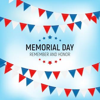 Memorial day, remember and honor