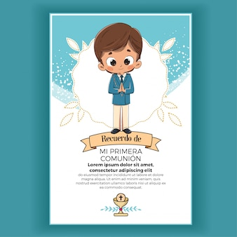 Memory of first communion child
