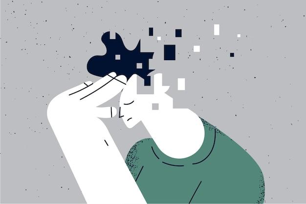 기억 상실 및 치매 뇌 손상