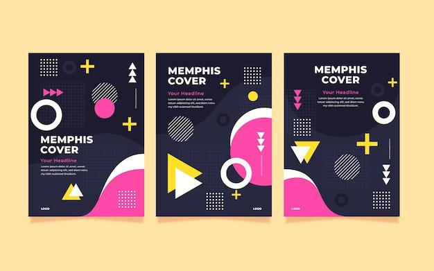 Memphis colorful cover set