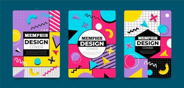Memphis design cover collection