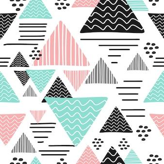 Memphis hipster pattern