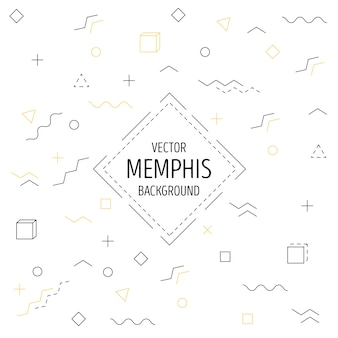 Memphis linear background
