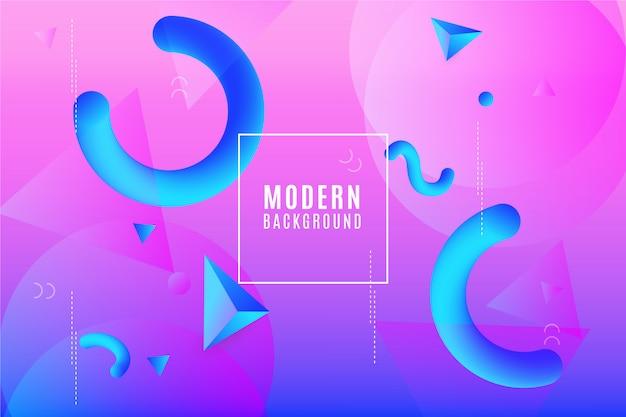 Memphis modern background