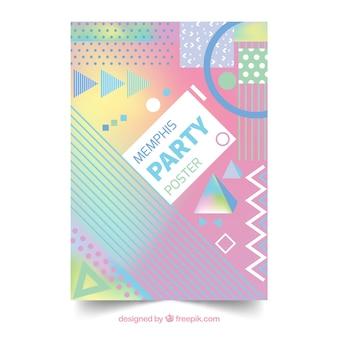 Memphis party brochure