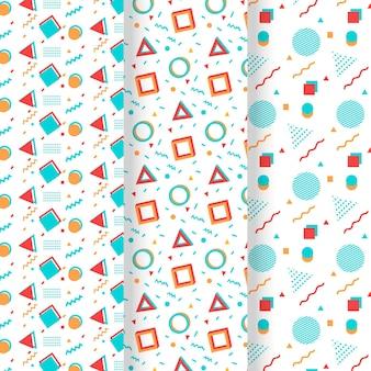 Memphis pattern collection concept