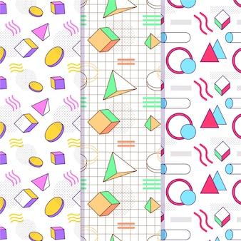 멤피스 패턴 컬렉션