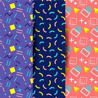 Memphis pattern collection