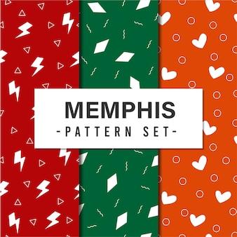 멤피스 패턴 세트