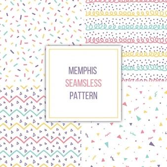 Memphis patterns collection