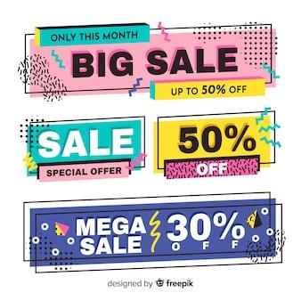 Memphis sale banners
