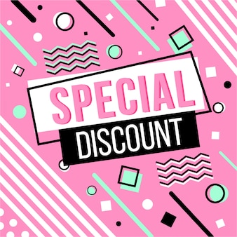 Memphis special discount banner