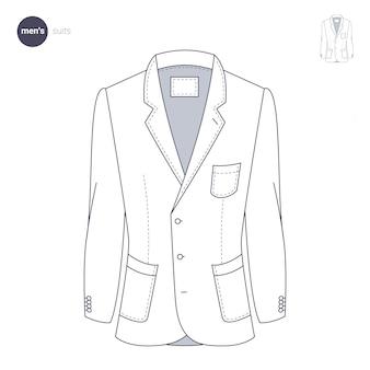 Мужской пиджак. одежда в тонком стиле.