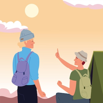 Палатка для мужчин