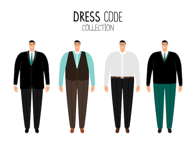 Men formal dress code