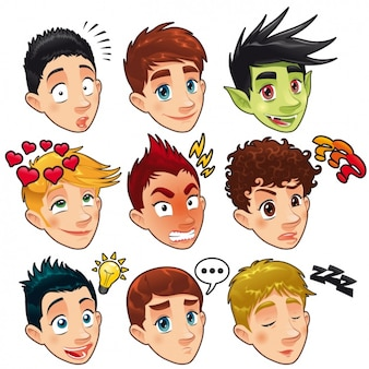 Men head designs