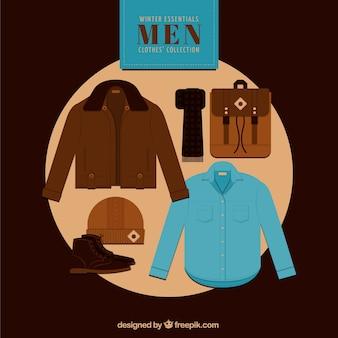 Men winter clothes