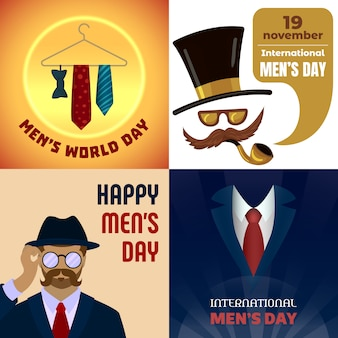 Mens day backgrounds