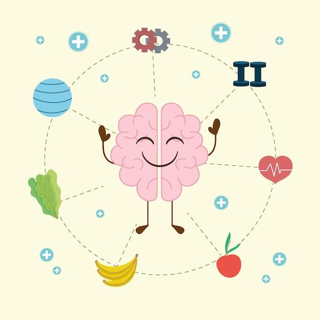 정신 건강 및 건강한 생활 방식 관련