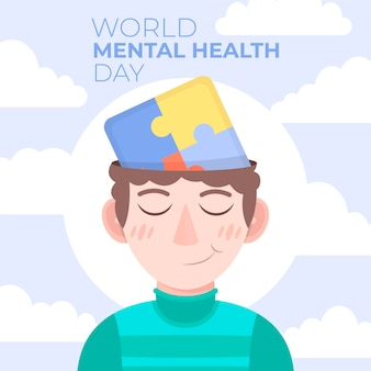 Иллюстрация дня психического здоровья