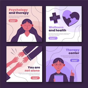 Mental health instagram posts collection