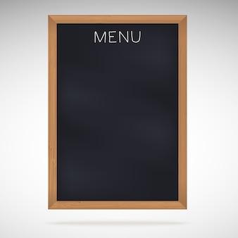 メニューの黒板または黒板。