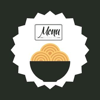 メニューレストラン Premiumベクター