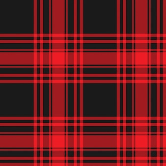 Menzies tartan black red kilt skirt fabric texture seamless pattern