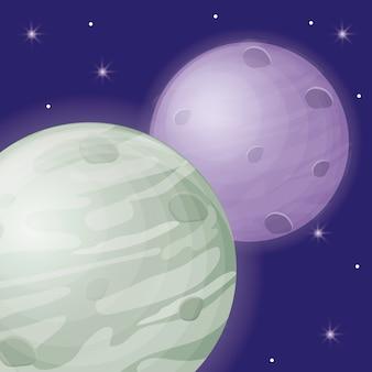 Mercury and planet icon