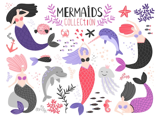 Mermaid girls collection